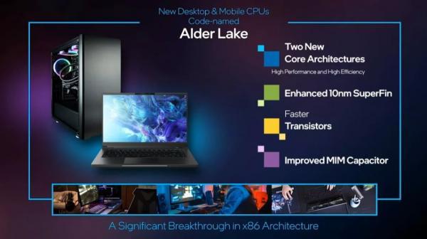 CES 2021: Intel Highlights Next-Generation 'Alder Lake' Chips