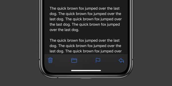 photo of iOS 13.4 features a new Mail toolbar, fixing the bad design introduced with iOS 13 image