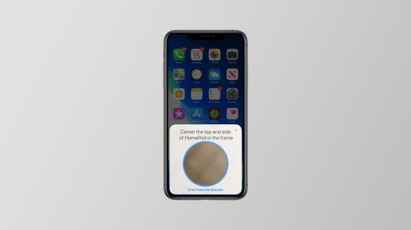 iOS 13 includes an updated HomePod setup…