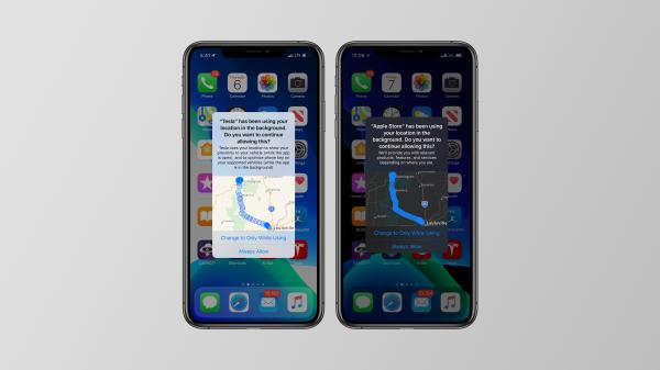 photo of iOS 13 now shows a map of where apps have been tracking you when requesting permission image