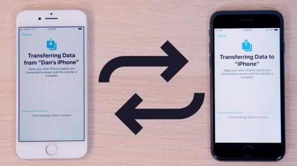 photo of Here's How Apple's New iPhone to iPhone Data Migration Feature Works in iOS 12.4 image