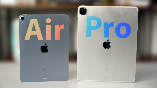2020 iPad Air vs. iPad Pro: Hands-On…