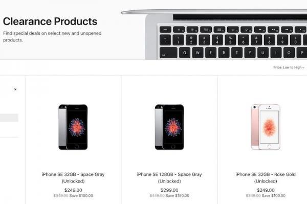 Apple Begins Selling iPhone SE Again on…