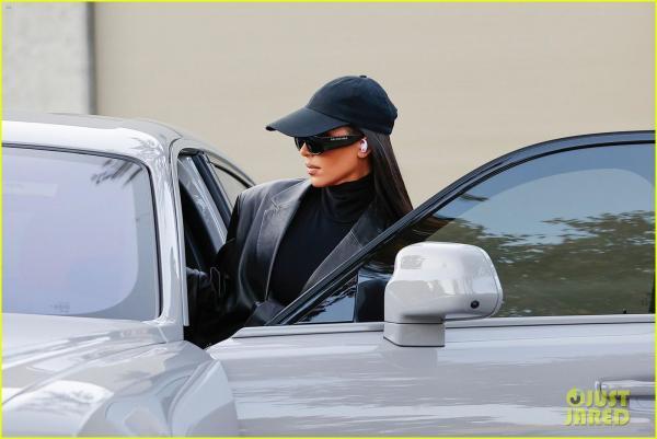 Kim Kardashian Spotted Wearing Upcoming…