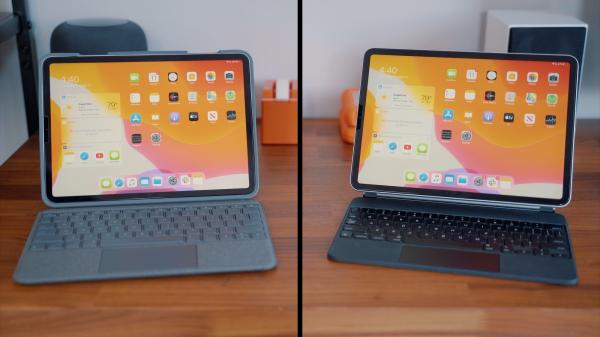 iPad Pro Keyboard Comparison: Logitech's $160 Folio Touch vs. Apple's $300 Magic Keyboard