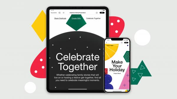 photo of Today at Apple unwraps live online sessions and creative projects to brighten your holidays at home image
