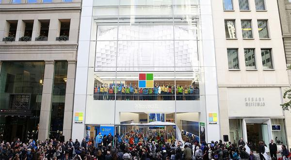 photo of Microsoft announces it is closing its retail stores permanently image