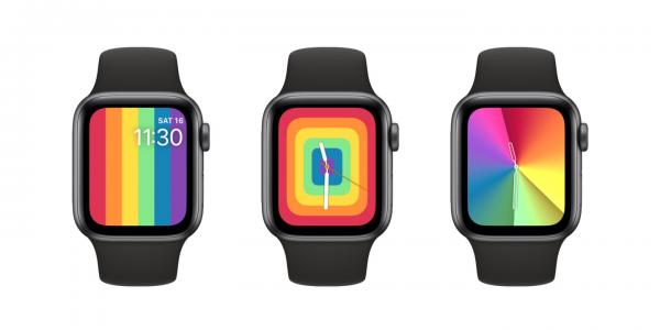 photo of Looking for the new Rainbow color on your Apple Watch? watchOS 6.2.5 may have lost it image