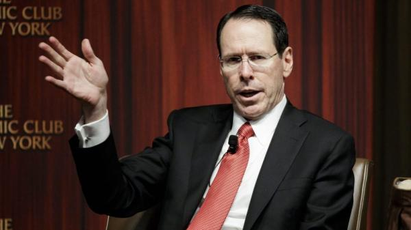 AT&T CEO ceremoniously interrupted by spam call during live presentation