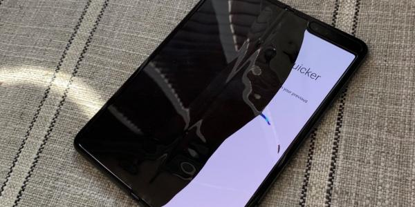 Samsung Galaxy Fold display issues…