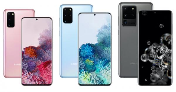 Samsung Unveils Galaxy S20 Smartphones…