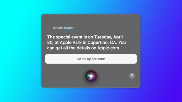 Siri Reveals Apple Event Planned for…