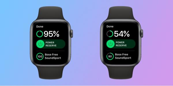 photo image Testing Apple Watch Series 4 with cellular off: over 50% battery after 2 hours
